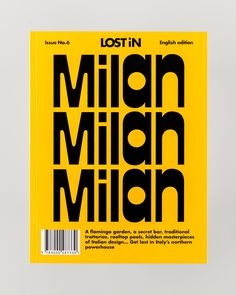 LOST iN Milan City Guide: It's Milan's effortless combination of new and old that gives its own unique sense of style, and it's the effortless way it wears it that has led it to become one of a global hub for contemporary art and fashion. LOST iN talks with the people who are helping to shape the city's identity: a creative force setting the global graphic scene alight, a pair of industrial designers, an architect and art-book editior and a food blogger duo. Each share their recommendations…