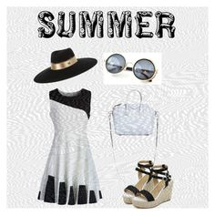 """""""Summer came....."""" by bsenid ❤ liked on Polyvore featuring Chicwish, Givenchy and Maison Michel"""
