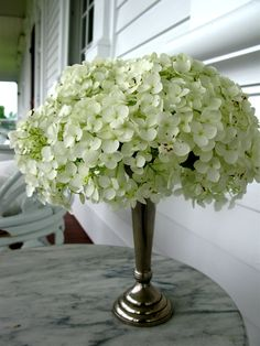 White flowers...