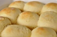 30 min rolls...these are great!  Just took them out of the oven...stuffed mine with pepperoni and mozzarella cheese...when they were done...rub the rolls with a little butter.