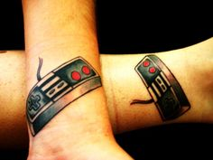 30 Super Cool Nerd Tattoos That Will Get You Smiling - Smashcave
