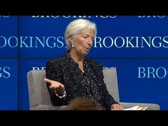 Implementing the post-2015 development agenda: A conversation with Christine Lagarde - YouTube