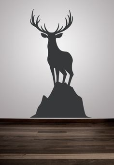 Wall Decal Animal Deer Wall Decor Animal Decal Buck Nature Wildlife Hunting Dorm Decor Woodland Sportsman Sport by WallStarGraphics on Etsy https://www.etsy.com/listing/117636412/wall-decal-animal-deer-wall-decor-animal