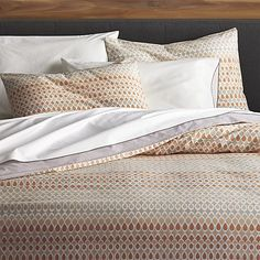 Banjara Duvet Covers and Pillow Shams | Crate and Barrel