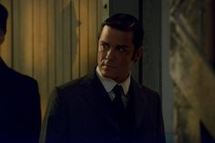 Murdoch (Yannick Bisson) inside Ward C at the asylum.
