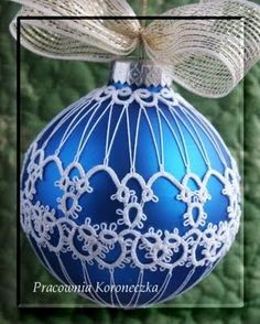 Tatting - Art Lace: Christmas Decoration