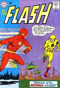 The Flash comic book.