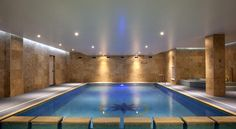 The Esplanade Hotel, Newquay, Cornwall, England. The Esplanade Hotel has an indoor child-friendly swimming pool, a spa bath and a sauna.