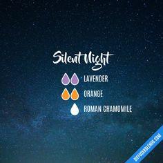 Silent Night - Essential Oil Diffuser Blend #aromatherapysleepdiffuser #aromatherapysleepblends #essentialoil