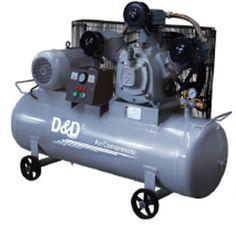 Phân phối máy hút bụi - Máy nén khí - Máy bơm mỡ chính hãng: Máy nén khí D&D RW0.8/10A (10 HP)