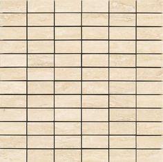 #Marazzi #Suite #Mosaico Travertino 36x36 cm MJP3 | #Gres | su #casaebagno.it a 132 Euro/mq | #mosaico #bagno #cucina