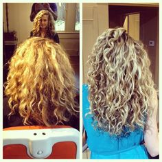 Orange salon austin Texas deva curl ok i am so going to get this stuff now need a new cut! Curly Hair Type 3, Curly Hair Care, Curly Hair Styles, Curly Wurly, Hair Today Gone Tomorrow, Deva Curl, Dream Hair, Curl Products, Curls