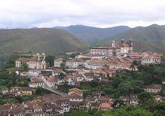 Ouro Preto, Cidade Histórica - Minas Gerais - Brasil
