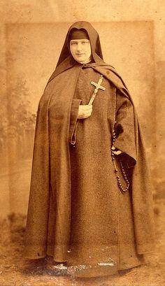 Vintage Sepia - Nun | Flickr - Photo Sharing!