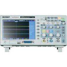 VOLTCRAFT MSO-5062B 2/16-Kanal Oszilloskop, Digitales Speicheroszilloskop, Bandbreite 60 MHz , integrierter 16 K-Logik-A