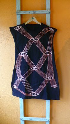 Handmade All Seeing Eye Dress Limited by dauphineandlesseps, $80.00