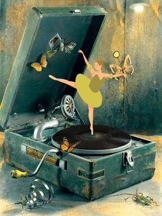 Caja de música. Gif