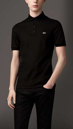 Double-Weave Piqué Cotton Polo Shirt - Very nice