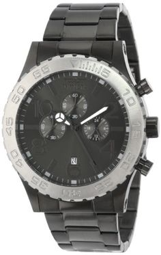 Invicta Men's 15164 Specialty Chronograph Gunmetal Ion-Plated Stainless Steel and Charcoal Dial Watch