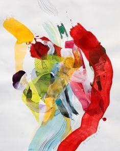 Jeg hiver meg ut i det Abstract, Artwork, Cute, Painting, Kunst, Summary, Work Of Art, Auguste Rodin Artwork, Kawaii