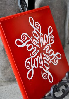 Joy To The World Anna S Design Gorgeous Christmas Signs Treats