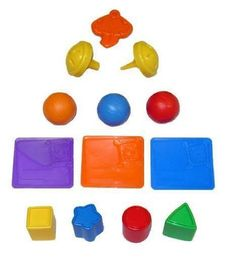 $7.98 Fisher Price Laugh and Learn Home - Replacement Pieces. Laugh and Learn Home Replacement Pieces Includes 4 shapes, 3 mail pieces, key, 2 door knobs, and 3 balls. These do not come in a retail box, they are in plastic from the factory