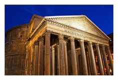 The Pantheon-- Rome, Italy