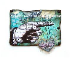 Artist Trading Card by Debrina Pratt