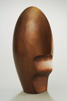 "Helmet Head, I  Jean (Hans) Arp (French, born Germany (Alsace). 1886-1966)    1959. Bronze, 21 x 7 1/2 x 13 3/4"" (53.3 x 19.2 x 34.9 cm). The Riklis Collection of McCrory Corporation. © 2012 Artists Rights Society (ARS), New York / VG Bild-Kunst, Bonn  987.1983"