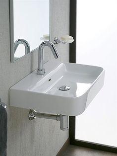 Luxury Bathrooms Malta miramar lavabo inc. soprap. cm. 57x48,3 - iperceramica | lavabi