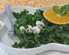 Quick 'Massaged' Kale Salad, it's the technique that makes this special, great for winter greens. #LowCarb For Weight Watchers, #PP2. #AVeggieVenture
