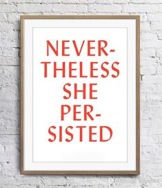 Canvas Home, Canvas Wall Art, Nevertheless She Persisted, Nordic Art, Type Posters, Panel Art, Art Pages, Modern Wall Art, Inspirational Quotes