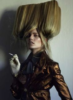 The Ones 2 Watch Virgin Homicides Editorial Features Strangely Shaped Hairdos #hairstyles trendhunter.com