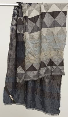 Giza Wool Scarf - Blues - Plümo A/W 2012
