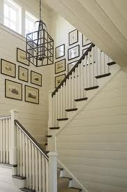 whitewashed horizontal paneling... this is all through our house ...luv it!
