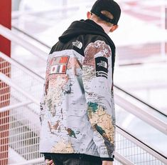 Supreme x tnf expedition jacket ss14