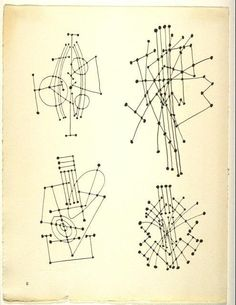 Constellation sketches by Picasso