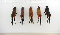 Maurizio Cattelan @ Fondation Beyeler (during Art Basel 2013)