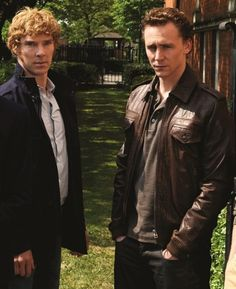Two of my most favorite people ever(: Tom Hiddleston and Benedict Cumberbatch