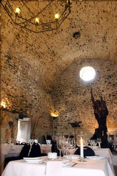 Restaurant Sa Capella in Ibiza near San Antonio is a must visit... you will love the place... Virgil & Marisa