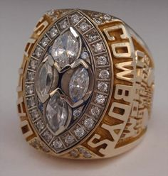 1993 Dallas Cowboys Super Bowl XXVIII Championship Ring