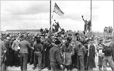 US Soldiers who liberated the concentration and death camps after the Holocaust