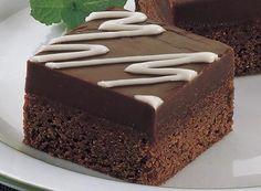 Double Chocolate Mint Bars Recipe
