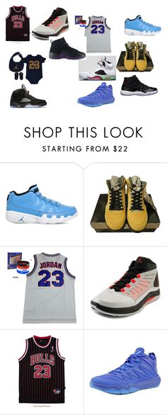 """j 23's"" by cookiesareyummy123456789 ❤ liked on Polyvore featuring NIKE, Jordan Brand, Freaker, men's fashion and menswear"