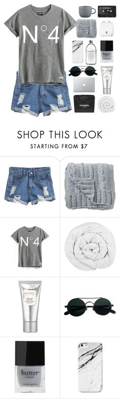 """""""AND I FEEL IT, DEEP IN MY HEART"""" by fashionpassiongirlx ❤ liked on Polyvore featuring Bloomingville, Chanel, The Fine Bedding Company, Laura Mercier, Butter London, Proenza Schouler, CB2 and audreysfashionsets"""