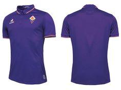 Camisas da ACF Fiorentina 2016-2017 Le Coq Sportif Titular