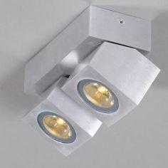 LED Strahler Rhodium 2 Aluminium