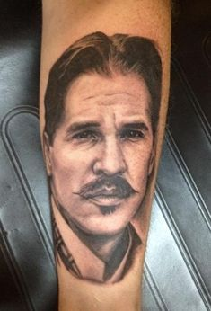 tattoos val kilmer as doc holiday from. Black Bedroom Furniture Sets. Home Design Ideas