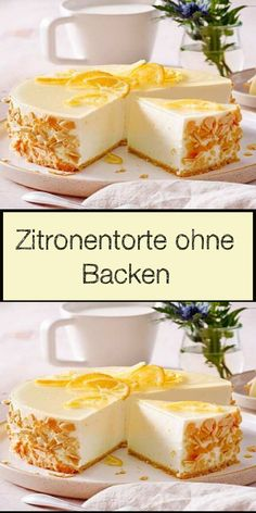 Zitronentorte ohne Backen Sour Cream Biscuits, Tea Biscuits, Brunch Party, Food Categories, Biscuit Recipe, No Bake Cake, Cake Cookies, Finger Foods, Bakery
