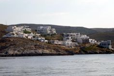 Photo gallery of the small town of Loutra on the Greek island of Kythnos. This village is best known for its healing hot springs and quiet harbor. Greek Isles, Travel Log, Cruise Travel, Hot Springs, Small Towns, Greece, Photo Galleries, Healing, Ocean